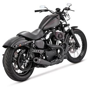 Roland Sands Slant Carbon Fiber Air Cleaner For Harley Sportster 1991-2015