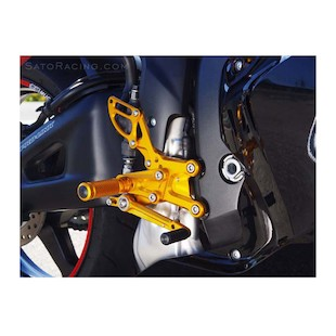 Sato Racing Rear Sets Honda CBR600RR ABS 2009-2015
