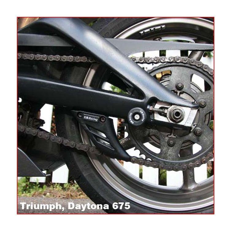 Bobbin Spools Swingarm Paddock Stand Adaptors 6 mm Motorbike Motorcycle Blue