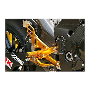 Sato Racing Rear Sets Yamaha R1 2009-2014