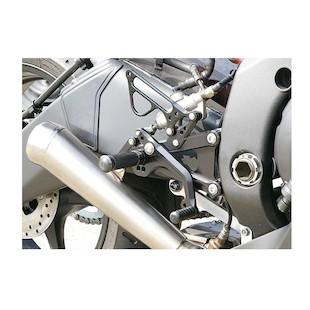 Sato Racing Rear Sets Yamaha R6 2006-2016
