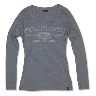 Roland Sands Long Sleeve V Women's T-Shirt