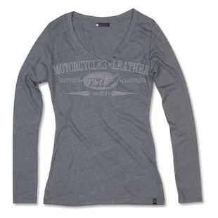 Roland Sands Long Sleeve V Women's T-Shirt