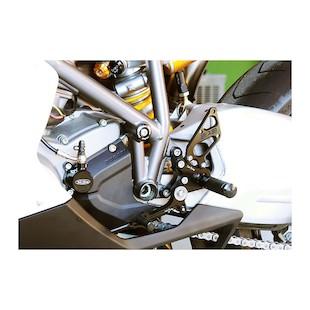 Sato Racing Type 2 Rear Sets Ducati 848