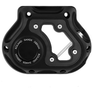 Roland Sands Clarity Cable Clutch Cover For Harley 5-Speed Transmissions 1987-2006