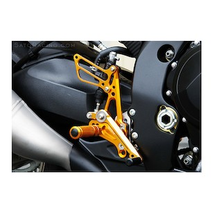 Sato Racing Rear Sets Suzuki GSXR 1000 2009-2014