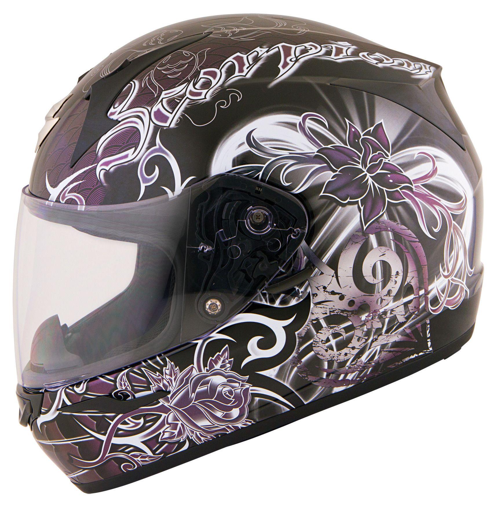 Scorpion EXO-R410 Orchid Women's Helmet - RevZilla