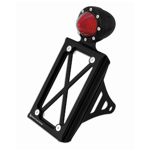 Roland Sands Vertical Tail Light And Tag Bracket For Sportster And Dyna 1986-2014