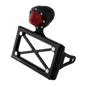 Roland Sands Horizontal Tail Light And Tag Bracket For Harley Sportster / Dyna 1986-2019