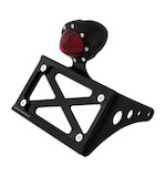 Roland Sands Horizontal Passenger Peg Mounted Tag Bracket For Harley Softail 2000-2014