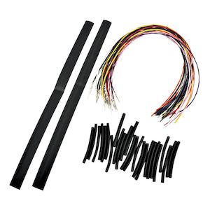 LA Choppers Handlebar Extension Wiring Kit For Harley 2007-2013