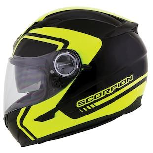 Scorpion EXO-500 West Neon Helmet