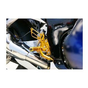 Sato Racing Rear Sets Suzuki Hayabusa 2008-2014