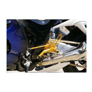 Sato Racing Reverse Shift Rear Sets Suzuki Hayabusa 2008-2012