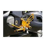 Sato Racing Reverse Shift Rear Sets MV Agusta F4 2003-2009