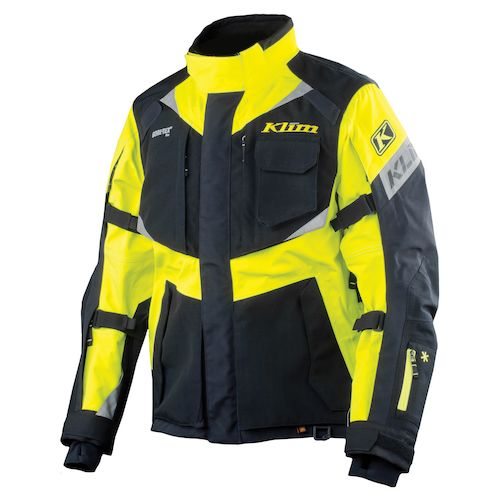 Klim Motorcycle Jacket Klim Badlands Pro Hi Vis Jacket (Size SM Only) - Hi-Viz Yellow