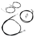 LA Choppers Handlebar Cable And Brake Line Kit For Harley Electra/Street Glide 1996-2007