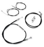 LA Choppers Handlebar Cable And Brake Line Kit For Harley Road King/Glide 1996-2007