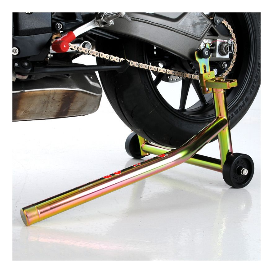 pit bull spooled forward handle rear stand - revzilla