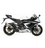Leo Vince Factory R EVO II Slip-On Exhaust Kawasaki ZX6R 2013