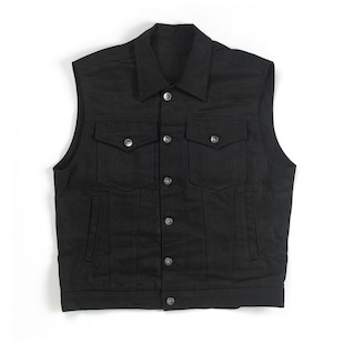Biltwell Prime Cut Denim Collared Vest