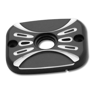 Arlen Ness Deep Cut Front Brake Master Cylinder Cover For Harley Softail / Dyna 2005-2009