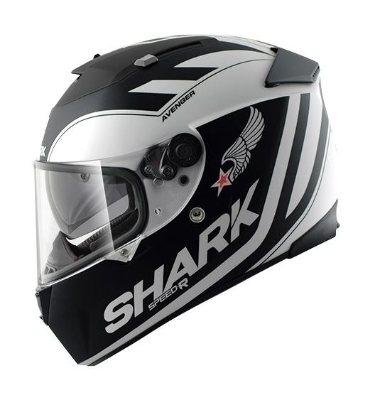 shark speed r avenger helmet revzilla. Black Bedroom Furniture Sets. Home Design Ideas