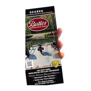 Butler Maps Ozarks