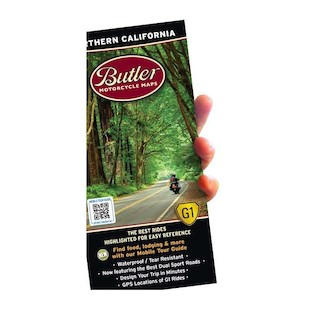 Butler Maps Northern California