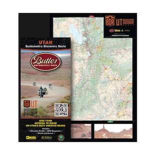 Butler Maps Utah Backcountry Discovery Route