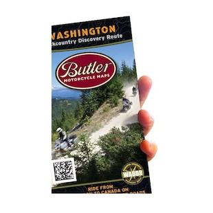 Butler Maps Washington Backcountry Discovery Route