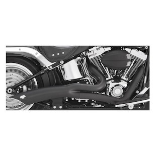 Vance & Hines Big Radius 2-Into-1 Exhaust For Harley Softail 2012-2017