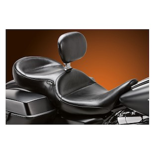 Le Pera Continental Seat With Backrest For Harley Touring 2008-2015