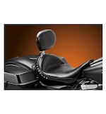 Le Pera Monterey Solo Seat With Driver Backrest For Harley Touring 2008-2014