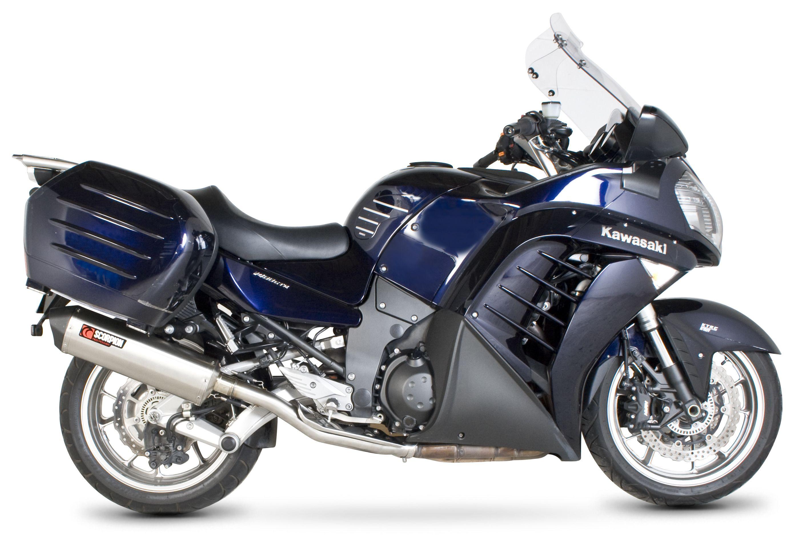 Scorpion Serket Parallel Slip-On Exhaust Kawasaki Concours 14 2007-2019 |  10% ($54 90) Off!