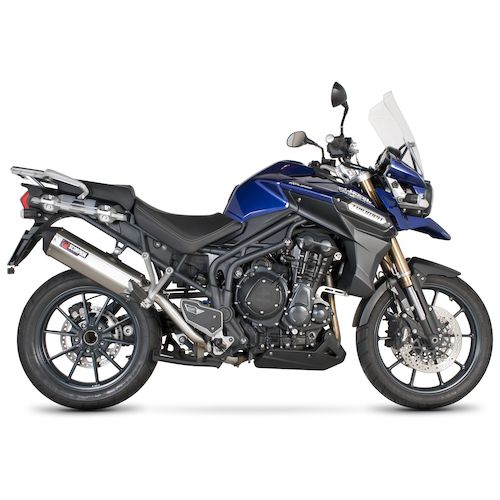 scorpion serket parallel slip on exhaust triumph tiger. Black Bedroom Furniture Sets. Home Design Ideas