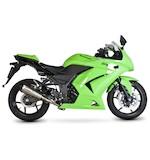 Scorpion Serket Taper Slip-On Exhaust Kawasaki Ninja 250R 2008-2013