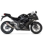 Scorpion Serket Taper Slip-On Exhaust Kawasaki Ninja 300 2013-2014