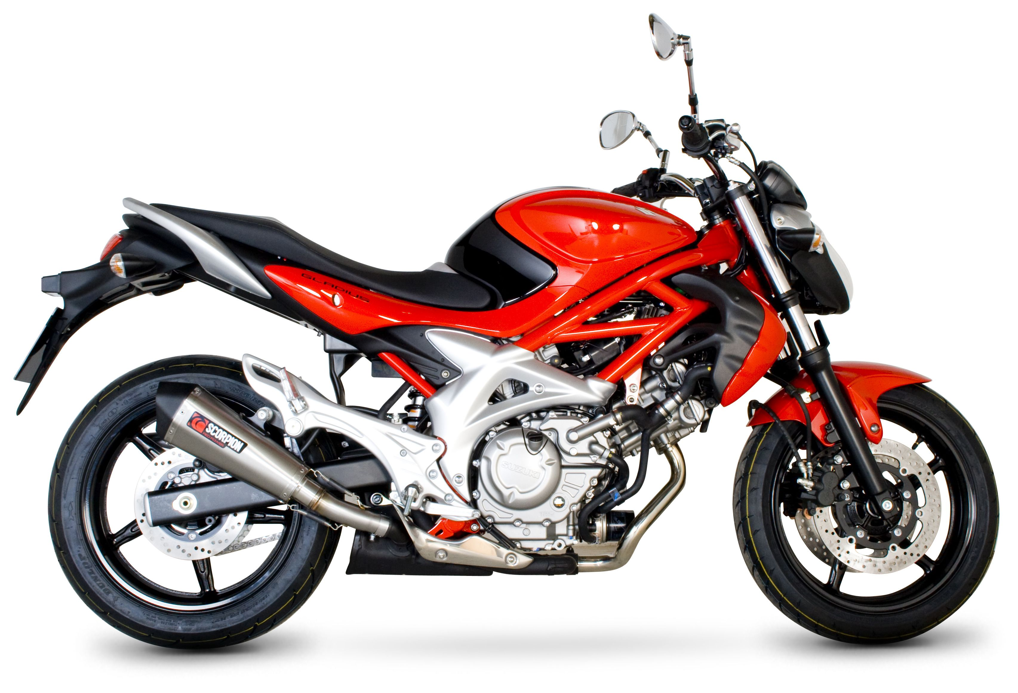 Suzuki Gladius Scorpion Exhaust
