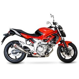 Scorpion Serket Taper Slip-On Exhaust Suzuki Gladius 650 2009-2015