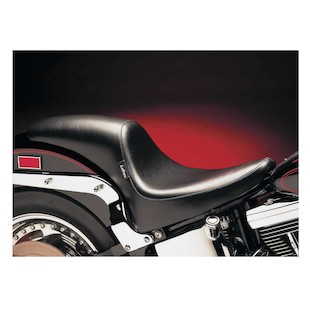 Le Pera Deluxe Silhouette Seat For Harley Softail With Standard Tire 2000-2015