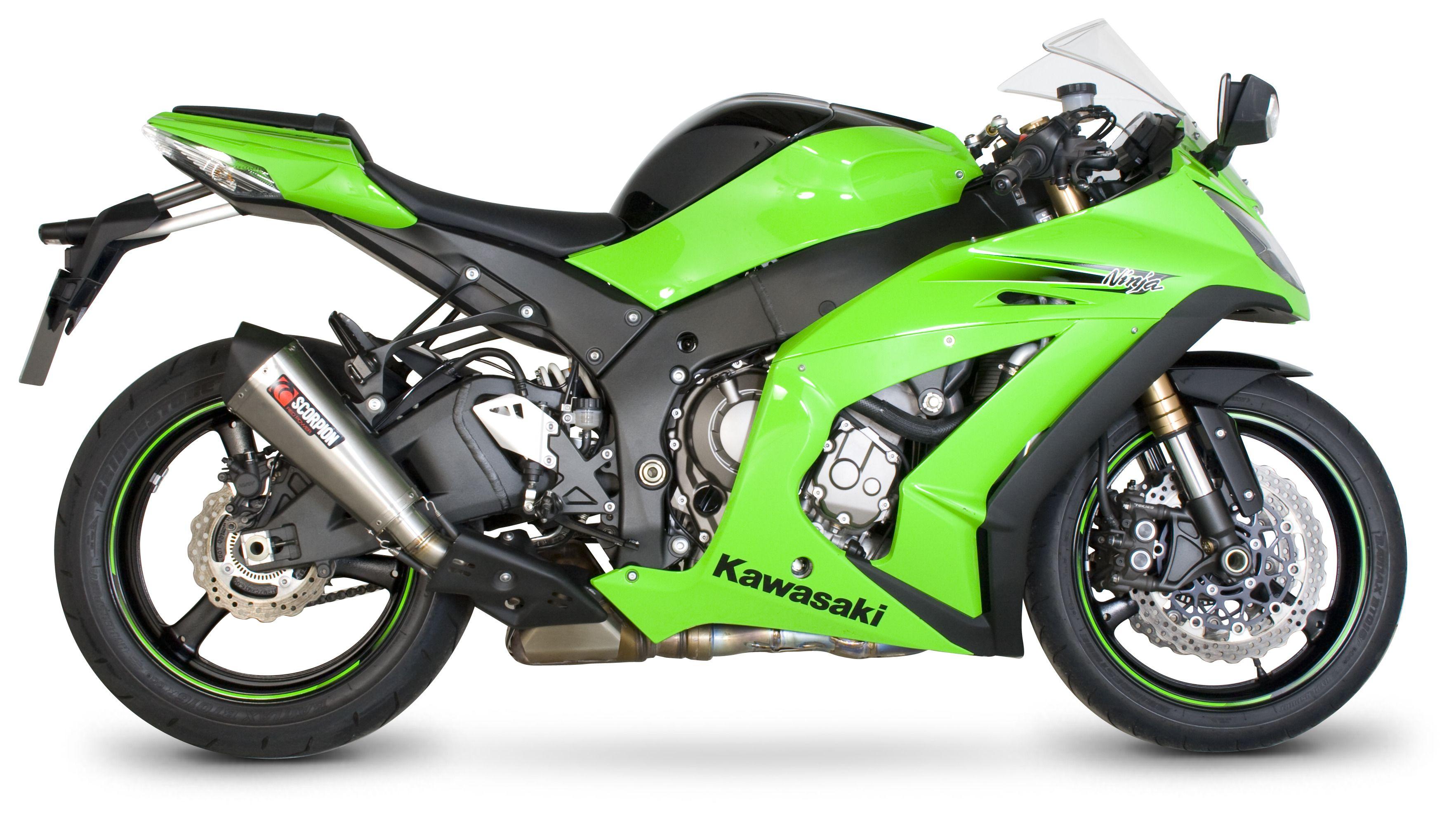 Scorpion Serket Taper Slip-On Exhaust Kawasaki ZX10R 2011-2015   10%  ($52.40) Off! - RevZilla