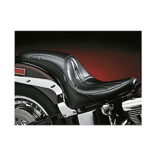 Le Pera Sorrento Seat For Harley Softail With Standard Tire 2000-2015
