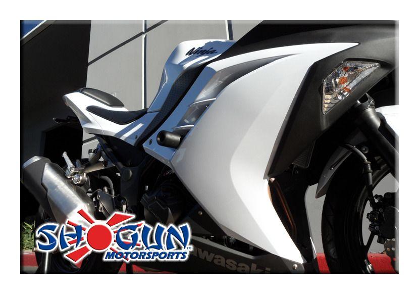 Shogun Frame Sliders Kawasaki Ninja 300 2013-2017 | 10% ($19.00) Off ...