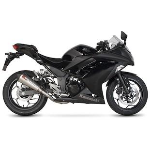 Scorpion Serket Taper Exhaust System Kawasaki Ninja 300 2013-2015