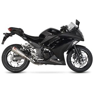Scorpion Serket Taper Exhaust System Kawasaki Ninja 300 2013-2014
