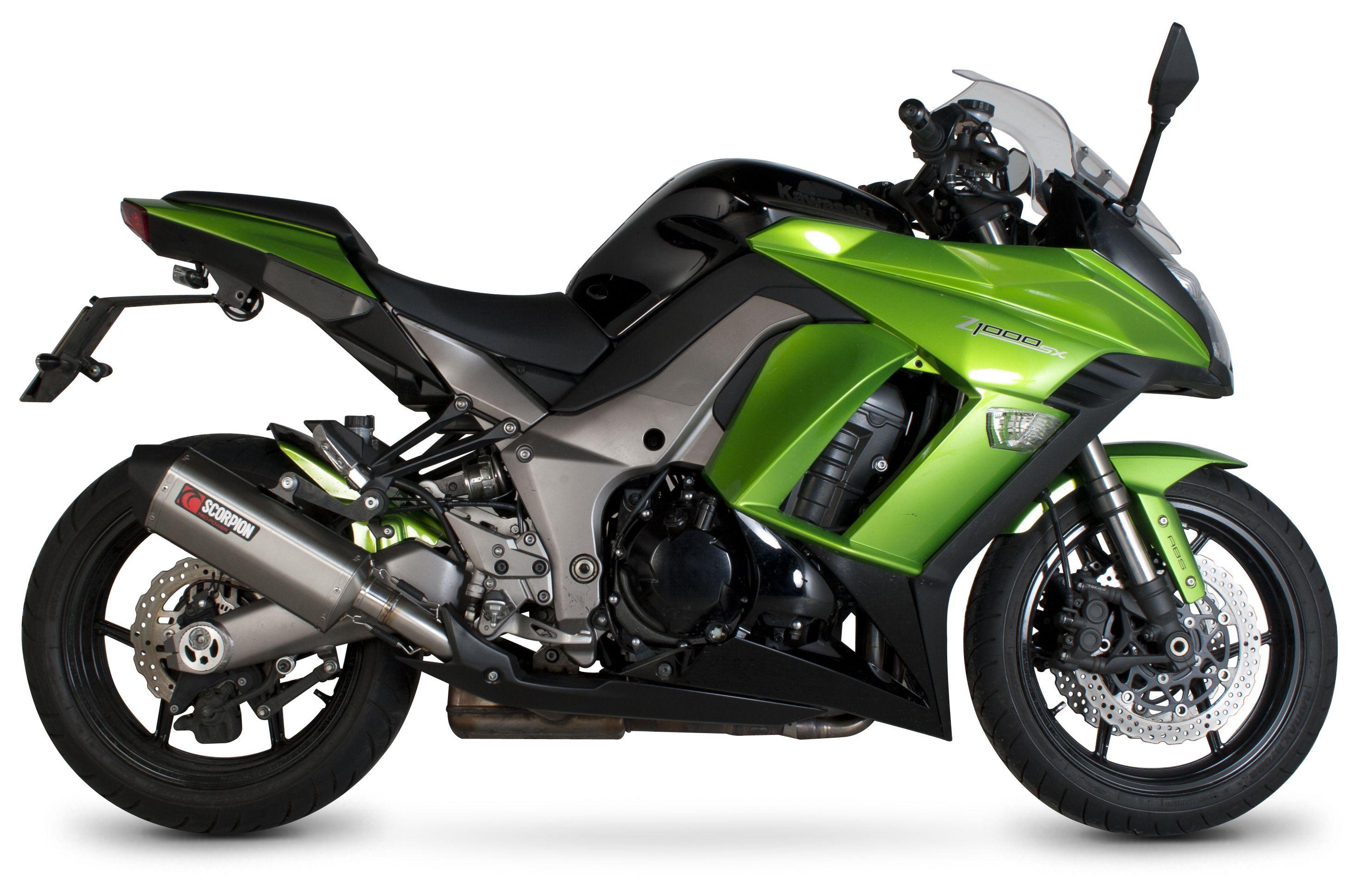 Scorpion Serket Parallel Slip-On Exhaust Kawasaki Ninja 1000 / Z1000