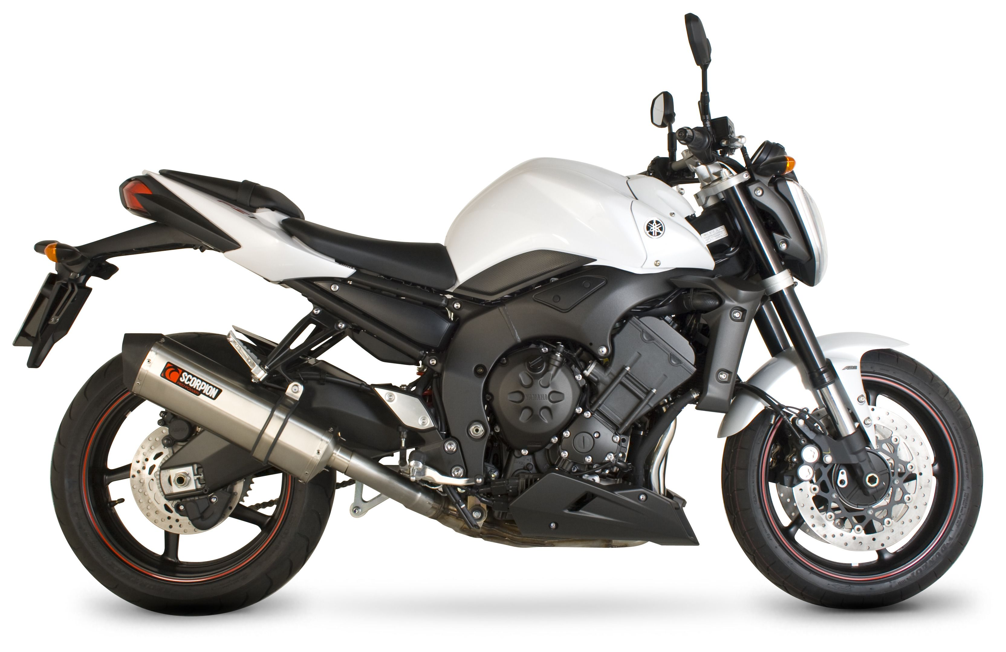 Scorpion Serket Parallel Slip-On Exhaust Yamaha FZ1 2006-2015 | 10 ...