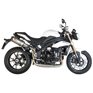 Scorpion Serket Parallel Slip-On Exhaust Triumph Speed Triple / R 2011-2015