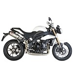 Scorpion Serket Parallel Slip-On Exhaust Triumph Speed Triple 1050 2011-2014